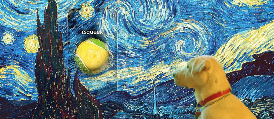 Van Gogh went for iSqueek