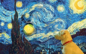 van gogh isqueek photoshopped painting